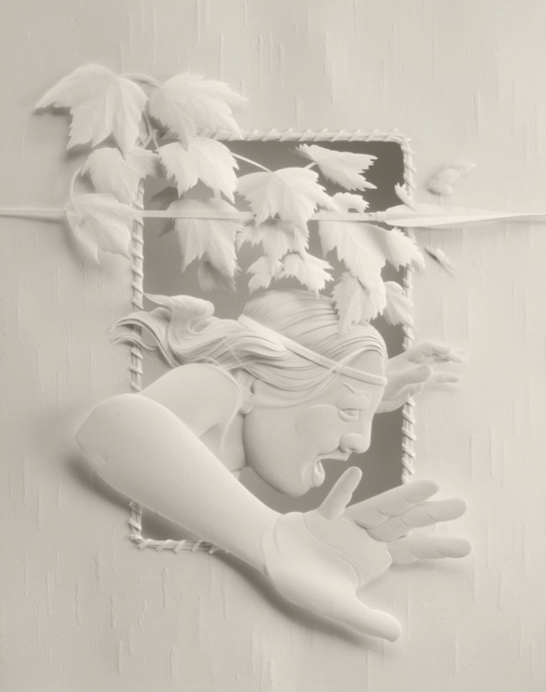 Calvin-Nicholls-Books-Paper-Sculpture-series-3