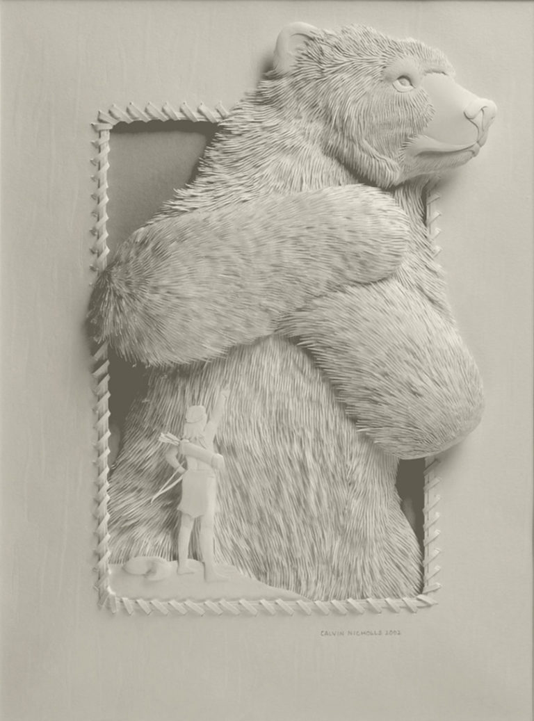 Calvin-Nicholls-Books-Paper-Sculpture-series-7