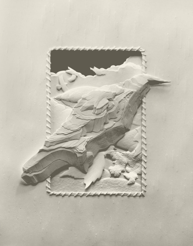 Calvin-Nicholls-BooksPaper-Sculpture-series-2