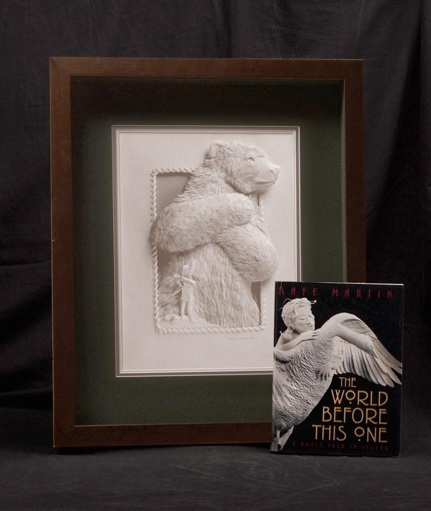 Calvin-Nicholls-Paper-Sculpture-WB4Giant-Bear
