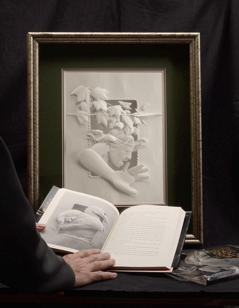 Calvin-Nicholls-Paper-Sculpture-WB4Run!