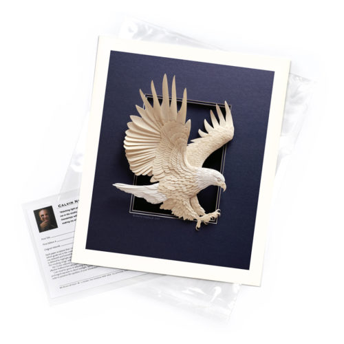 Eagle Approach – Limited Edition Art Print