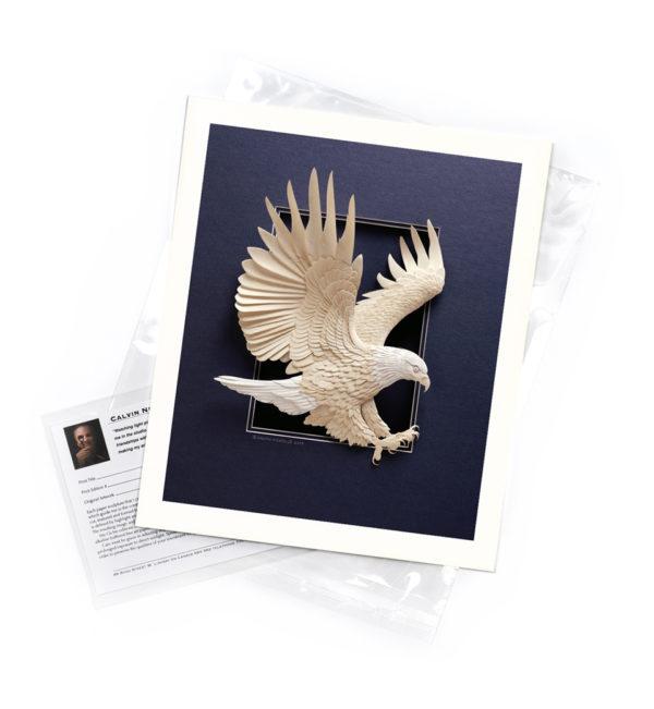 Calvin-Nicholls-print-Eagle-Approach