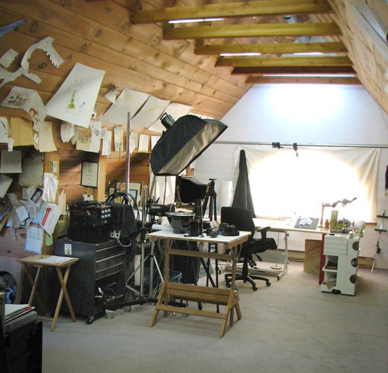 Calvin-Nicholls-Paper-Sculpture-studio-equip-one