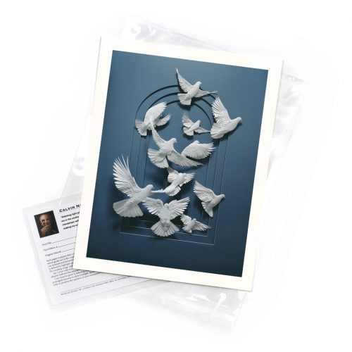 Doves – Limited Edition Art Print