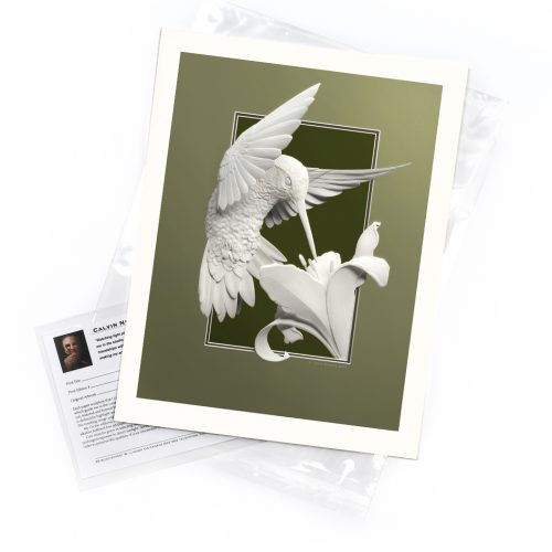 Hummingbird – Limited Edition Art Print