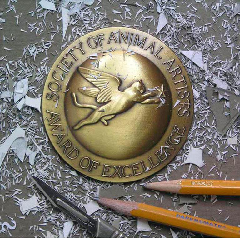 Calvin Nicholls Paper Sculpture Art SAA recognition